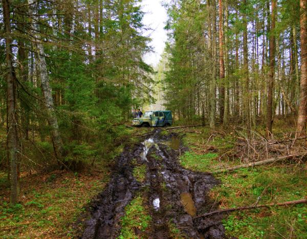 4x4 kjøring i Tallinn