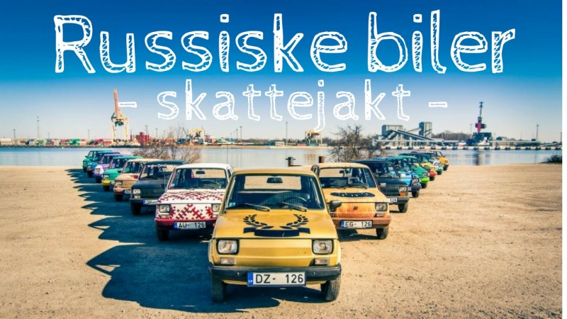 Skattejakt med russiske biler på firmatur